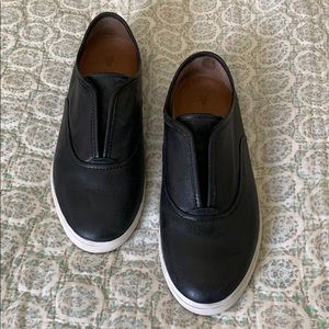 Frye Leather tennis shoes size 7.5